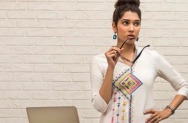 Let your kurti, sweep the boardroom!